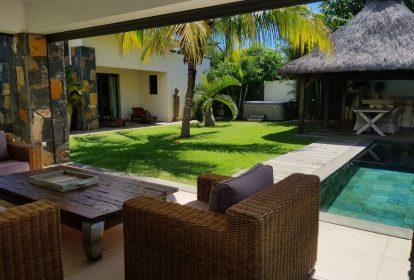 Villa à Grand Baie - terasse - PLEION Private Services