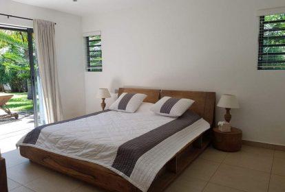 Villa à Grand Baie - chambre à coucher 1 - PLEION Private Services