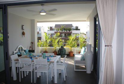 Terrasse - Appartements de luxe à Ile Maurice