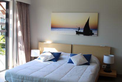 Chambre - Living - Appartements de luxe PLEION Private Services