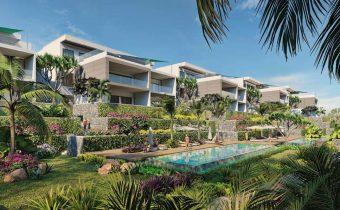 Piscine - Appartements de luxe à vendre à l'île Maurice