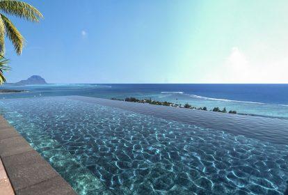 Tourelle de Tamarin - Vue piscine - PLEION Private Services