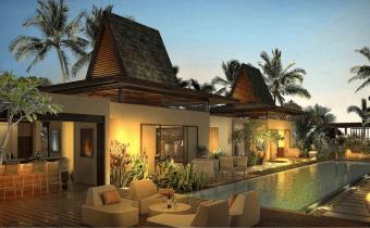 Villa Balaclava - Vue du jardin - PLEION Private Services