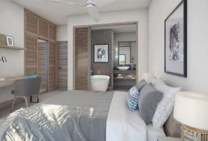 Appartements Pointe aux Canonniers - Vue chambre - VI N 17