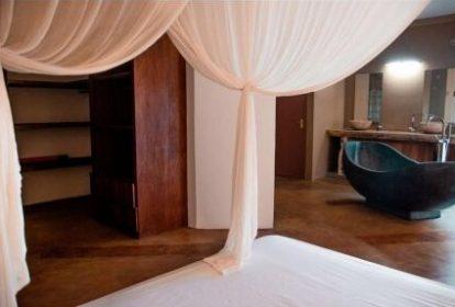 Villa balinaise - Cap Mayeux - chambre