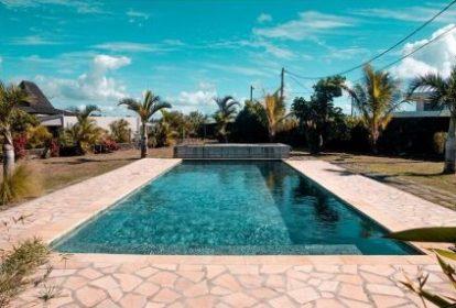 Villa balinaise - Cap Mayeux - piscine