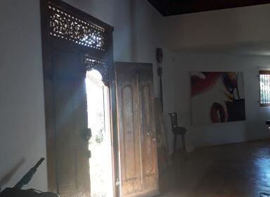 Villa balinaise - Cap Mayeux - porte entree