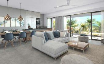 Vue living - Appartements à vendre à Île Maurice