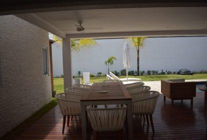 Location villa de luxe île Maurice - terrasse
