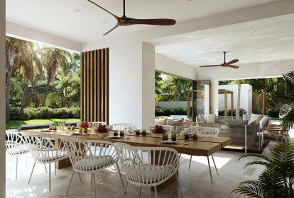Projet exclusif de villas de luxe, au sein d'un des plus beaux complexes hôteliers de l'île Maurice