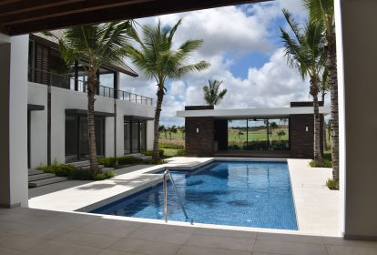 Vue piscine -